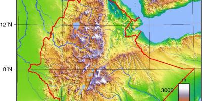 Ethiopia Map Maps Ethiopia Eastern Africa Africa